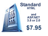 Pro-Web.us standard ASP/.NET 3.5 and 2.0 web hosting